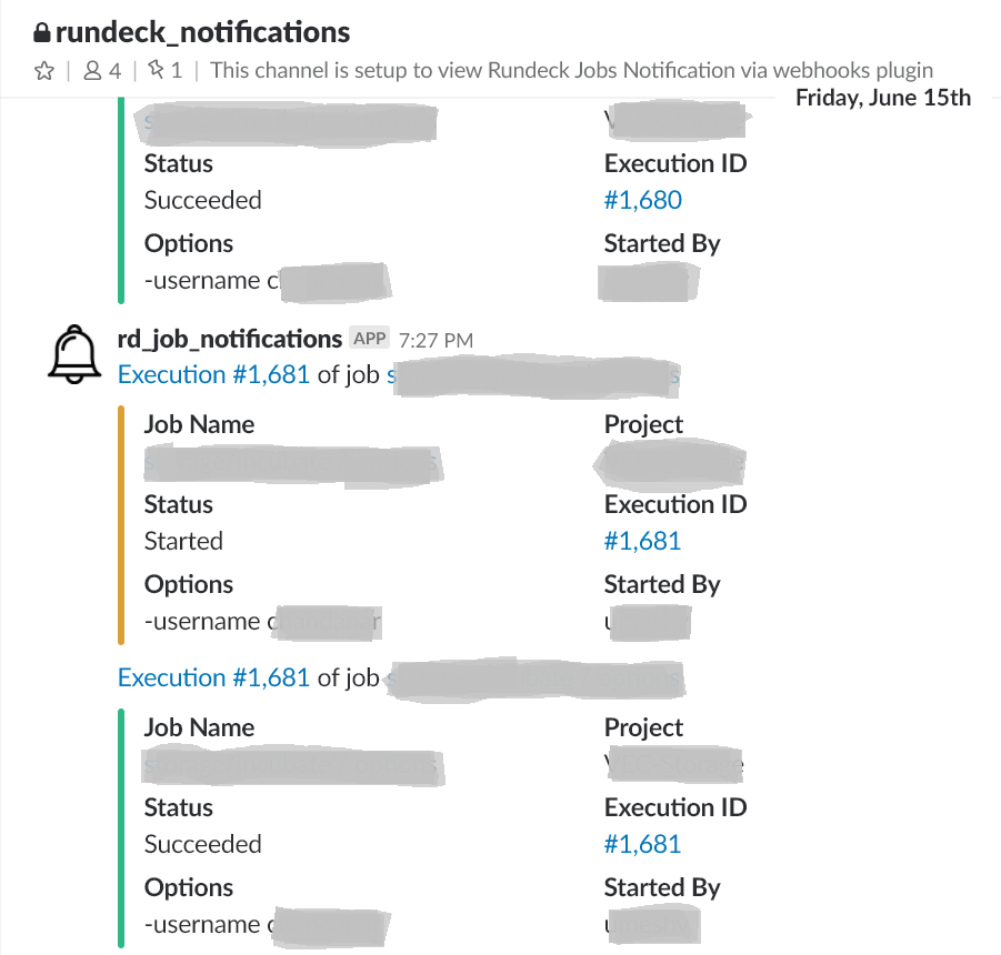 Integrate Rundeck notifications with Slack | Tygpress